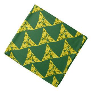 Keltischer Knotenmuster-Entwurf Bandana Kopftuch