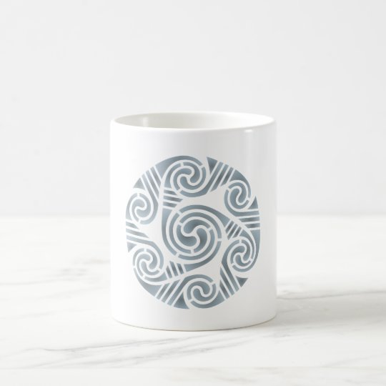 Keltischer Kreis celtic circle Kaffeetasse