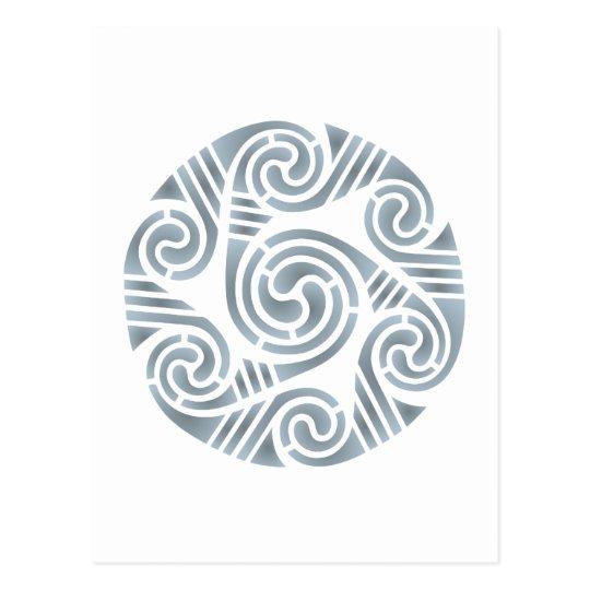 Keltischer Kreis celtic circle Postkarte