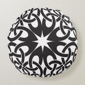 Keltischer Kreis Rundes Kissen