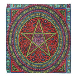 Keltischer PentagramBandana Kopftuch