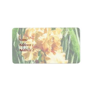 Keltischer Ruhm Irises Hochzeits-Produkte Adressaufkleber