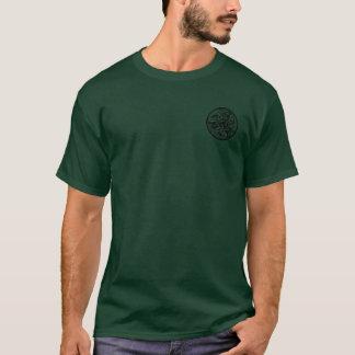 Keltischer runder Hundeshirt T-Shirt