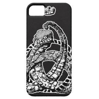 Keltischer Schlangen-Fall des Knoten-B&W Etui Fürs iPhone 5