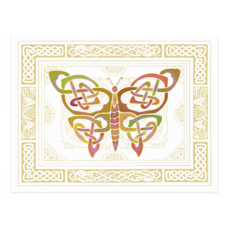 Keltischer Schmetterling II Postkarte