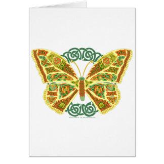Keltischer Schmetterling Karte