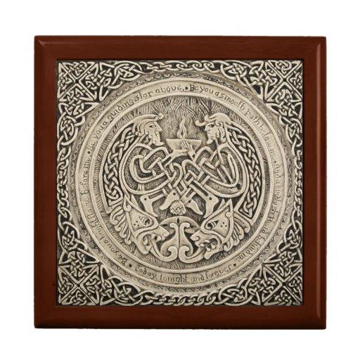 Keltischer Schmuck-Kasten Erinnerungskisten
