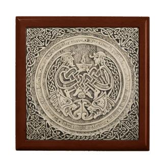 Keltischer Schmuck-Kasten Große Quadratische Schatulle