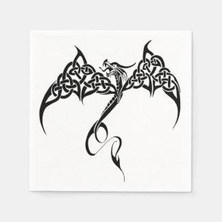 Keltischer Stammes- Drache Servietten
