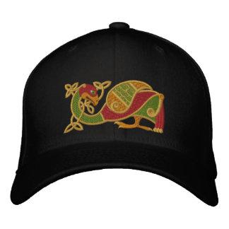 Keltischer Vogel Bestickte Baseballkappe