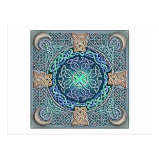 Keltisches Auge der Welt Postkarte