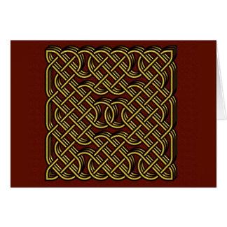 keltisches Herz Karte