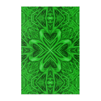 Keltisches Klee-Kaleidoskop-Acrylwand-Kunst Acryl Wandkunst