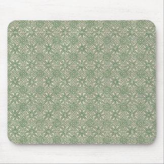 Keltisches Knoten-Grün-Muster Mauspads