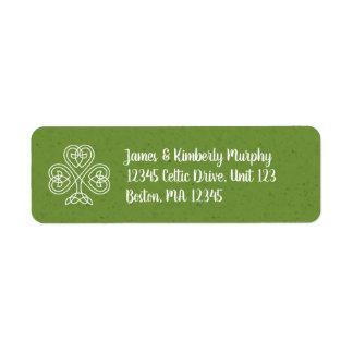 Keltisches Knoten-Kleeblatt