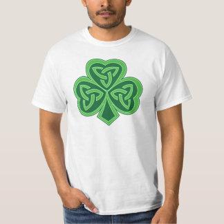 Keltisches Knoten-Kleeblatt T-Shirt