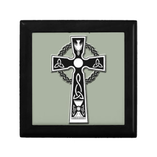 Keltisches Kreuz Erinnerungskiste