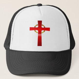 Keltisches Kreuz-Fernlastfahrer-Hut Truckerkappe