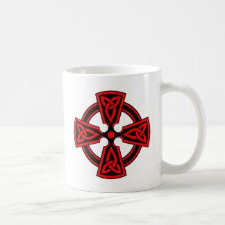 Keltisches Kreuz Kaffeetasse