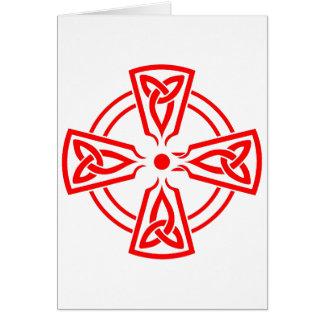 Keltisches Kreuz Karte
