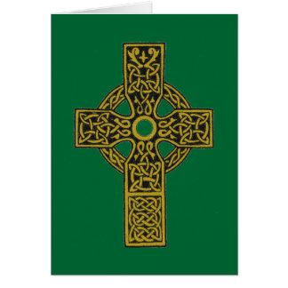 Keltisches Kreuz-Karten Karte