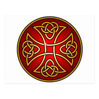 Keltisches Kreuz Postkarte