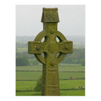 Keltisches Kreuz-Postkarte Postkarte