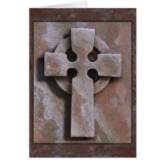 """""""Keltisches Kreuz-"""" simuliertes Artefakt Karte"""