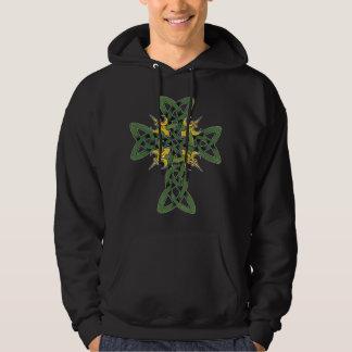 Keltisches Kreuz-T-Shirt Hoodie