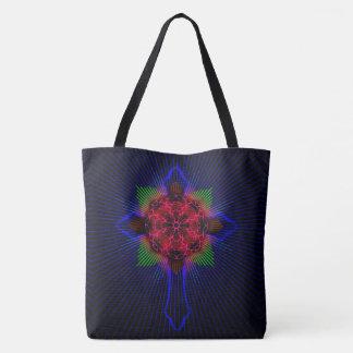 Keltisches Kreuz und Rose Tasche