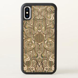 Keltisches Mandala-Monogramm iPhone X Hülle