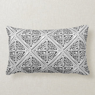 Keltisches Muster - mit Ziegeln gedeckt Zierkissen