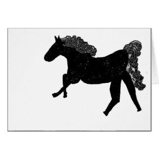 Keltisches Pferd Karte