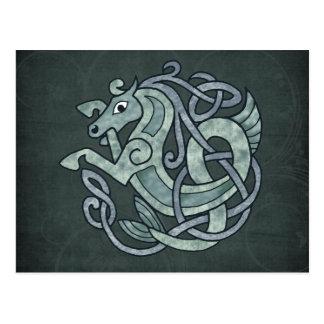 Keltisches Pferd Postkarte