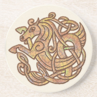 Keltisches Pferd Sandstein Untersetzer