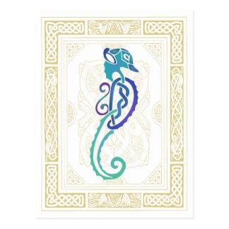 Keltisches Seepferd Postkarte
