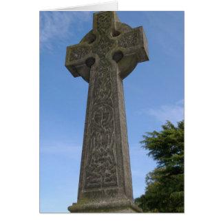 Keltisches Steinkreuz Karte