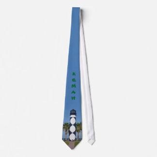 Kemah Leuchtturm-Krawatte Personalisierte Krawatten