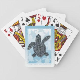 Kemps Ridley Meeresschildkröte-Spielkarten Spielkarten