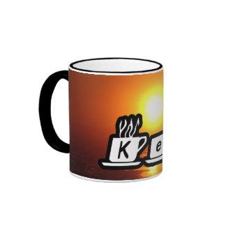 Ken - am Sonnenuntergang Kaffee Tasse