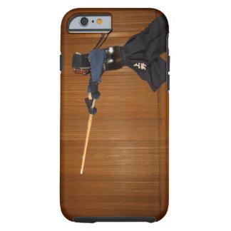 Kendo Fechter-Üben Tough iPhone 6 Hülle