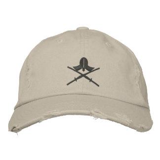 kendo shinai bestickte mütze
