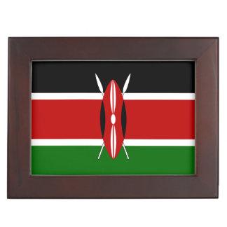 Kenia-Flagge Erinnerungsdose