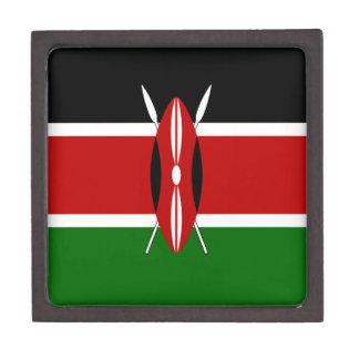Kenia-Flagge Kiste