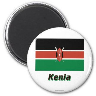 Kenia Flagge MIT Namen