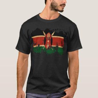 Kenia-Flagge T-Shirt