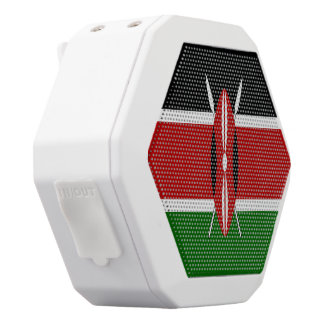 Kenia-Flagge Weiße Bluetooth Lautsprecher