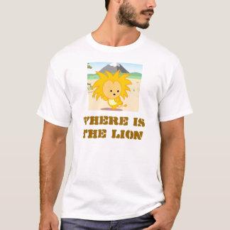 Kenia, in dem der Löwe ist T-Shirt