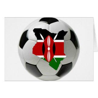 Kenia-Nationalmannschaft Karte