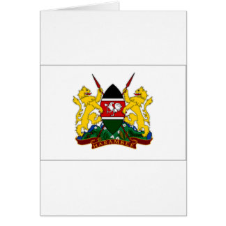 Kenia-Präsident Flag Karte